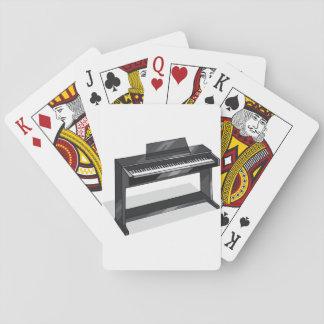 Elektrisches Klavier-Spielkarten Spielkarten