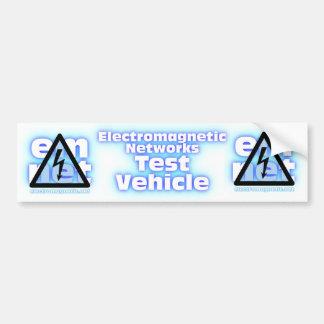 Elektromagnet-Netz-Test-Fahrzeug Autoaufkleber