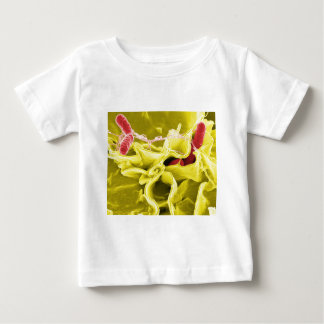 Elektronenmikroskopbild, das Salmonella Baby T-shirt