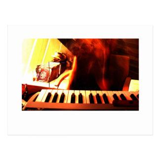 Elektronische Musik Postkarte