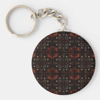 Elektronisches Muster Schlüsselanhänger
