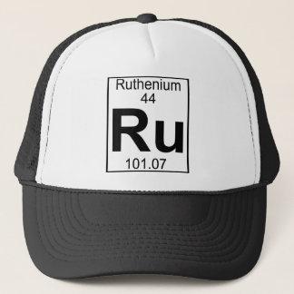 Element 044 - Ru - Ruthenium (voll) Truckerkappe