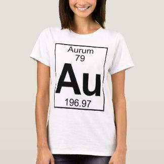 Element 079 - Au - Aurum (voll) T-Shirt