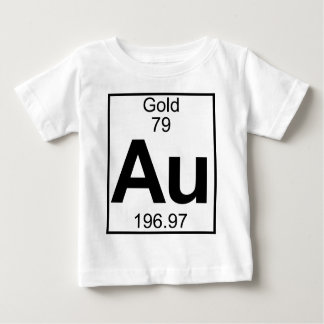 Element 079 - Au - Gold (voll) Baby T-shirt