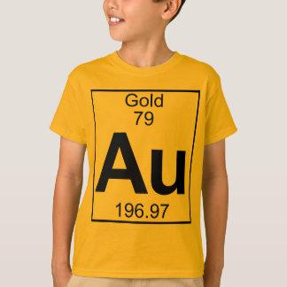 Element 079 - Au - Gold (voll) T-Shirt