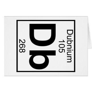 Element 105 - DB - Dubnium (voll) Karte