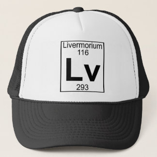 Element 116 - Lv - Livermorium (voll) Truckerkappe