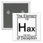 Element HAX Anstecknadelbuttons