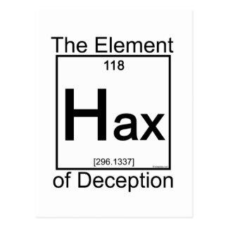 Element HAX Postkarte