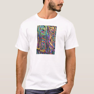 Element-/Wismutchlorverbindung unter dem Mikroskop T-Shirt