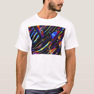 Element-/Zinksulfat unter dem Mikroskop T-Shirt