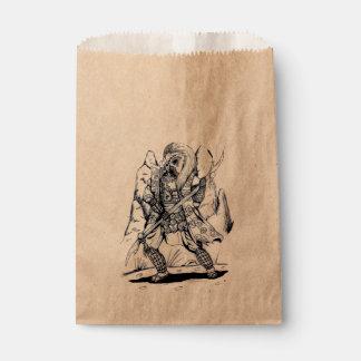 Elementare Luft-Samurais Geschenktütchen