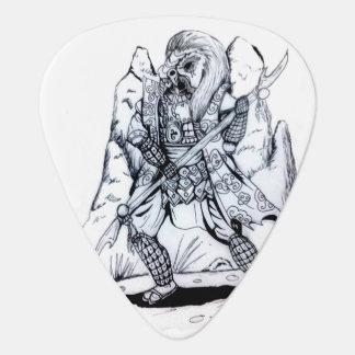 Elementare Luft-Samurais Plektrum