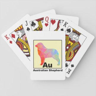 Elementarer Australier Spielkarten