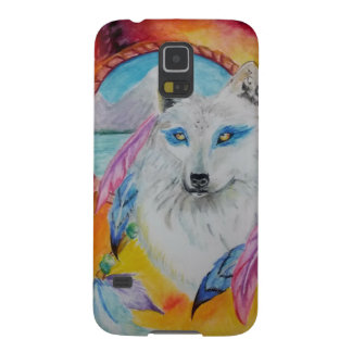Elementarer Wolf Samsung S5 Cover