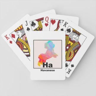 Elementares Havanese Spielkarten