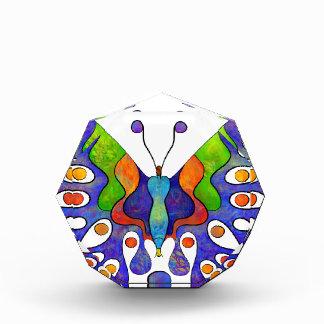 Elenissina - bunter Schmetterling Acryl Auszeichnung