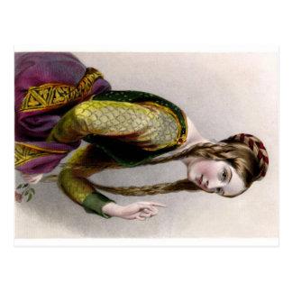 Eleonor von Aquitanien-Postkarte Postkarten