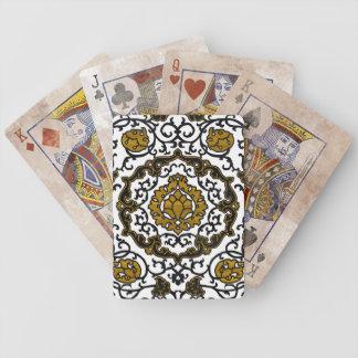Eleonora di Toledo - Gold Bicycle Spielkarten