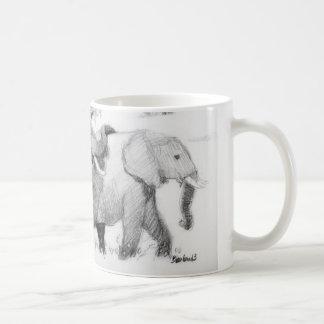 Elepephants Wickelrock Kaffeetasse