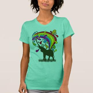 Elephant_Bathing T-Shirt