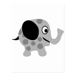 ElephantILoveP3 Postkarte