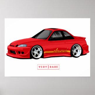 Elevens Farbe u. Plakat Faser-Lexuss SC300