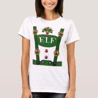 Elf-Anzugs-lustiger Kostüm-T - Shirt