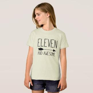 Elf und fantastisches 11. Geburtstags-Geschenk T-Shirt
