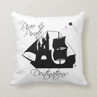 Elf-und Piraten-Bestimmungsort-Kissen Kissen