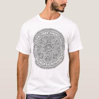 Elf zeigten keltischen Pentagram T-Shirt