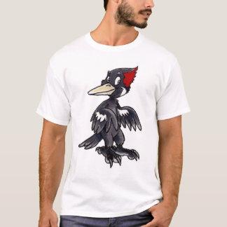 Elfenbein-Berechneter Specht T-Shirt