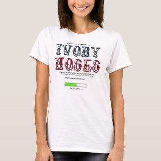 Elfenbein-Nasen T-Shirt