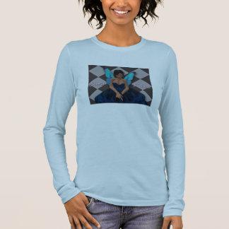 Elfenbein-Palast-Shirt Langarm T-Shirt