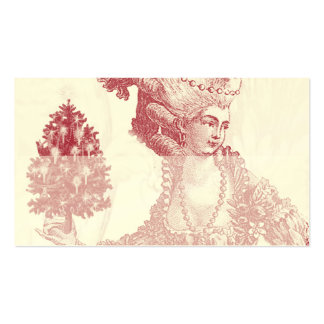 Elfenbein-Platzkarte Joyeux Weihnachten- Rouge Visitenkartenvorlage