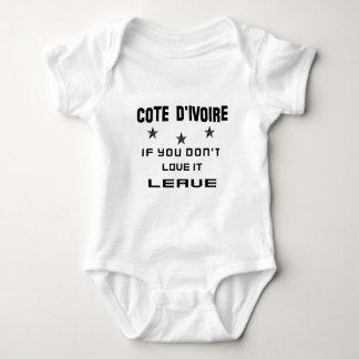 Elfenbeinküste, wenn Sie nicht Liebe es tun, Baby Strampler