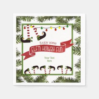 ELF'n Feiertags-Spaß Papierserviette