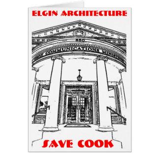 Elgin Architektur • Retten Sie Koch Karte