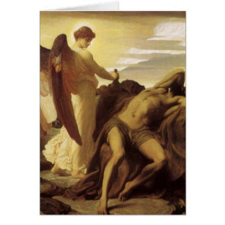 Elija in der Wildnis durch Lord Frederic Leighton Karte