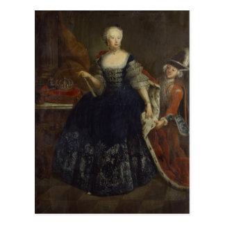 Elisabeth Christine von Braunschweig als Königin Postkarte