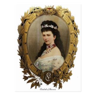 Elisabeth der Bayern-Postkarte