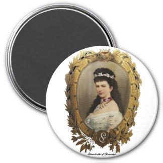 Elisabeth des Bayern-Magneten Runder Magnet 7,6 Cm