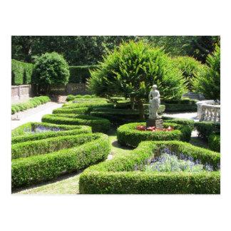 Elisabethanische Gärten Manteo North Postkarte