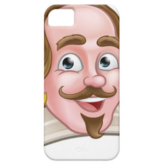 Elisabethanischer Cartoon-Charakter Shakespeare Barely There iPhone 5 Hülle