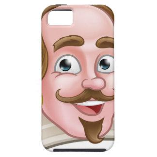 Elisabethanischer Cartoon-Charakter Shakespeare Hülle Fürs iPhone 5
