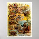 Elitchs Zoo - Druck Plakat