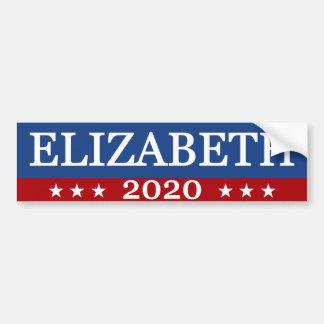 Elizabeth 2020 autoaufkleber