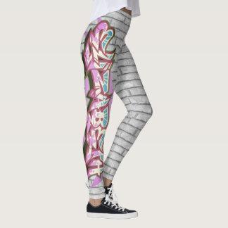 Elizabeth-Graffiti-Wand Leggings