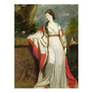 Elizabeth-Schießen, Herzogin von Hamilton und Postkarte