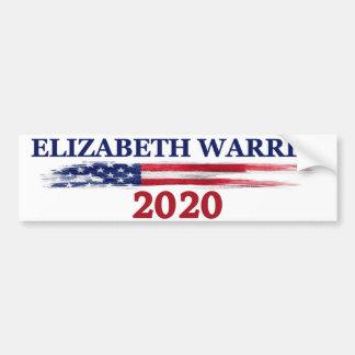 Elizabeth Waren 2020 Autoaufkleber